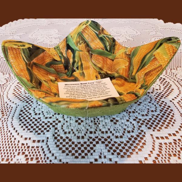 Corn & Green Microwave Cozy