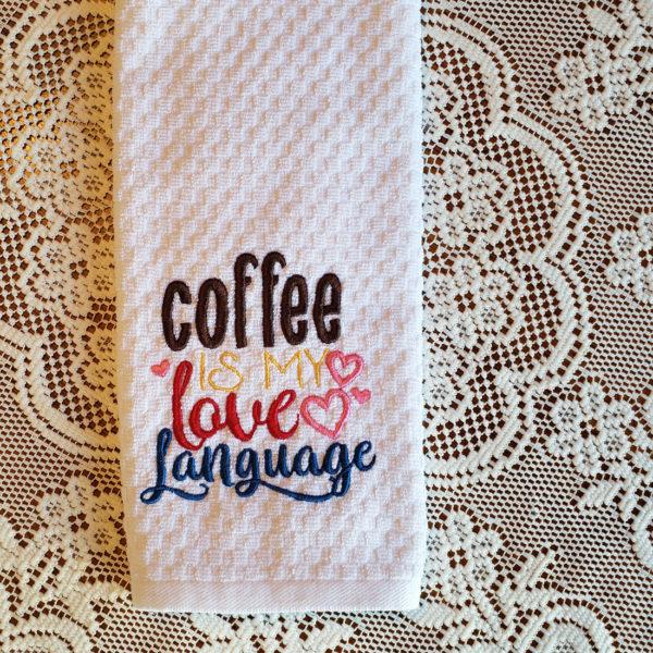 Coffee my Love Language