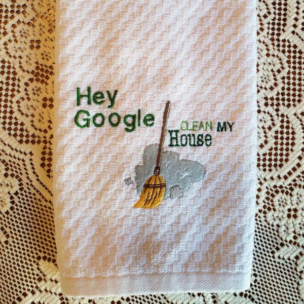 Towel Hey Clean Clean House
