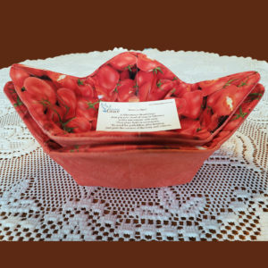 Tomato Microwave Bowl Cozy