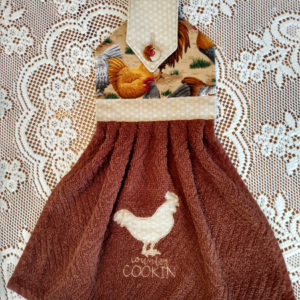 hanging kitchen towel 14 chickens