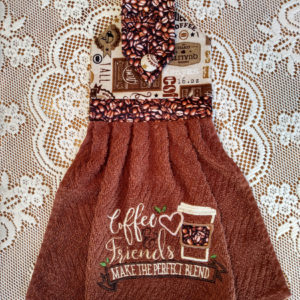 hanging kitchen towel 15 Coffee